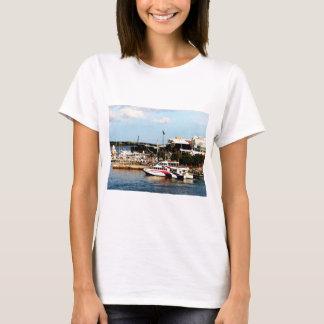 Dock at King's Wharf Bermuda T-Shirt