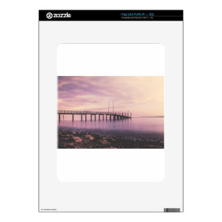 Dock at Konstanz Skin For The iPad