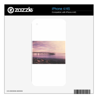 Dock at Konstanz Skins For iPhone 4