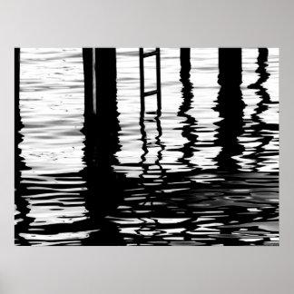 """Dock Grey"" JTG Art Poster"