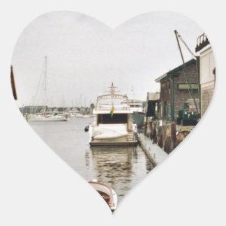 Dock Heart Sticker