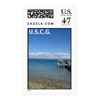 Dock in GTMO, U.S.C.G. Postage