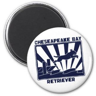 Dock Jumping Chesapeake Bay Retriever Magnet