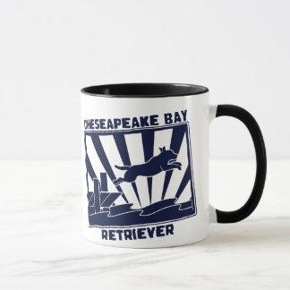 Dock Jumping Chesapeake Bay Retriever Mug