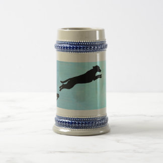 Dock Jumping Dog Beer Stein