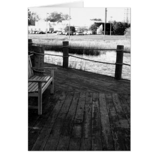 Dock notecard greeting cards