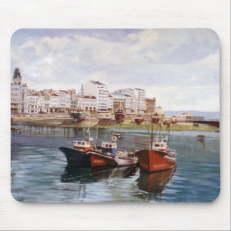 Dock of A Corunna/Dock in A Corunna Mouse Pad