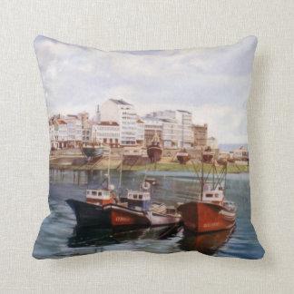 Dock of A Corunna/Dock in A Corunna Pillow