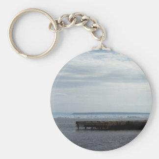 Dock Of The Bay Key Chain