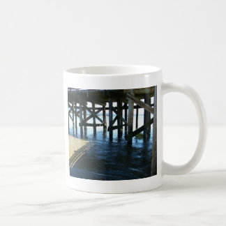 Dock Shadows Coffee Mug