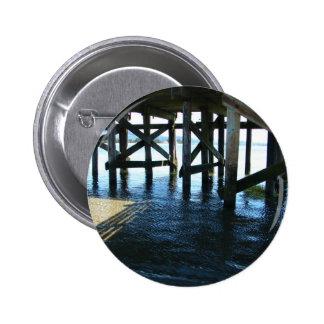 Dock Shadows Pinback Button