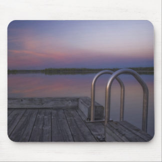 dock sunrise mouse pad