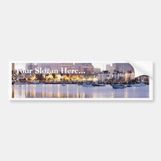 Dock Town Bumper Sticker