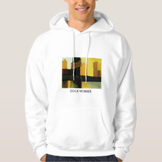 dock worker design by ivo hoodie