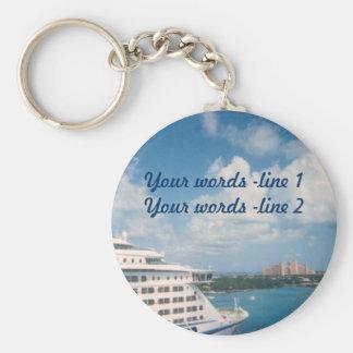 Dockd in Nassau Custom Keychain