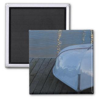 Docked boat 2 inch square magnet