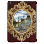 Docked Boats In Water, Nautical Photography iPad Air Case