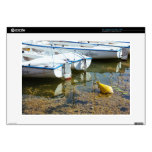 """Docked Boats In Water, Nautical Photography Skin For 15"""" Laptop"""