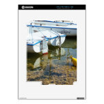 Docked Boats In Water, Nautical Photography Skins For iPad 2