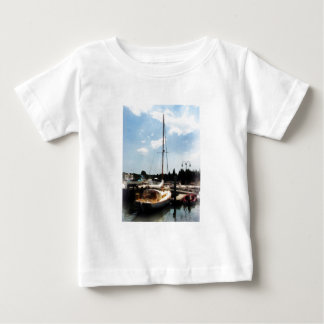 Docked Cabin Cruiser Baby T-Shirt