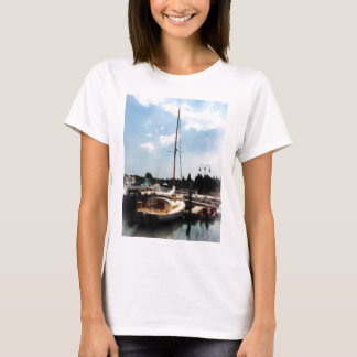 Docked Cabin Cruiser T-Shirt