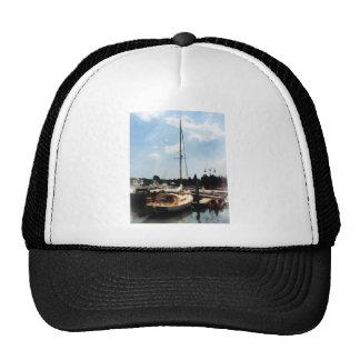 Docked Cabin Cruiser Trucker Hat