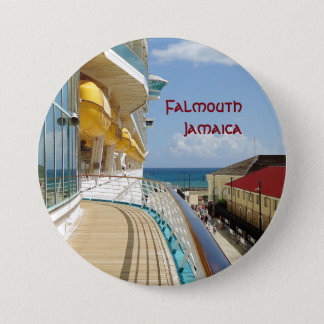 Docked in Falmouth Pinback Button