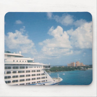 Docked in Nassau Mousepad