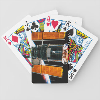 Docked Satellite Bicycle Playing Cards