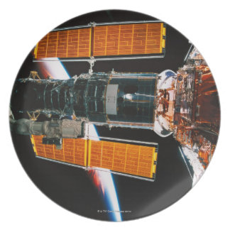 Docked Satellite Party Plates
