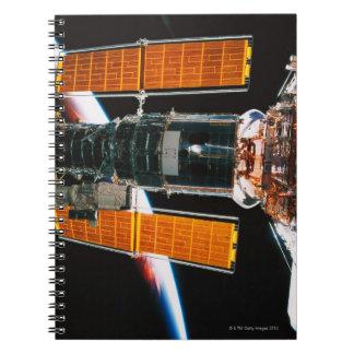 Docked Satellite Spiral Notebook