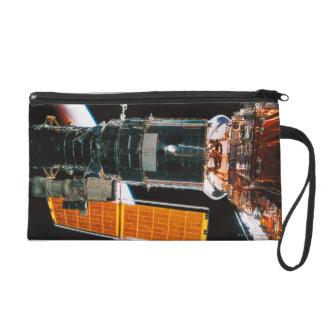 Docked Satellite Wristlet Purse