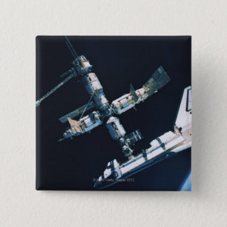 Docked Space Shuttle 2 Button