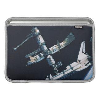 Docked Space Shuttle 2 MacBook Air Sleeves