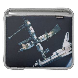 Docked Space Shuttle 2 Sleeve For iPads