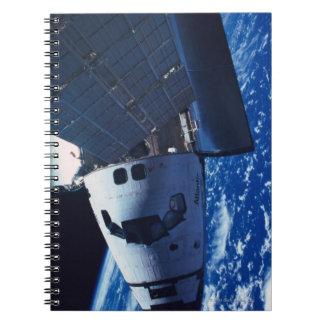 Docked Space Shuttle 3 Notebook