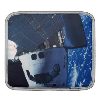 Docked Space Shuttle 3 Sleeve For iPads