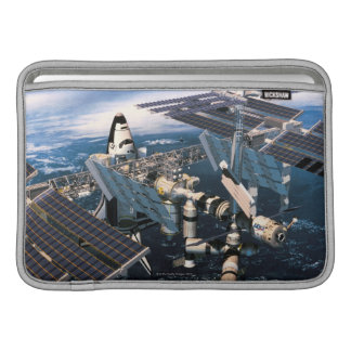 Docked Space Shuttle Sleeves For MacBook Air