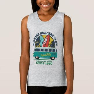 Docker BASIC Girl Surfing Tank Top