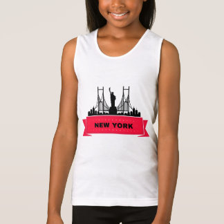 Docker BASIC Girl the USA Tank Top
