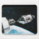 Docking In Space - Artist Rendering Mouse Pad