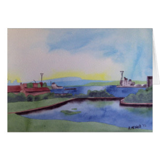 Docklands, London Card
