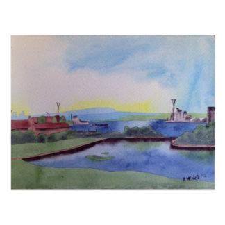 Docklands postcard