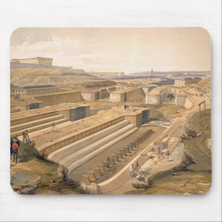 Docks at Sebastopol, plate from 'The Seat of War i Mouse Pad