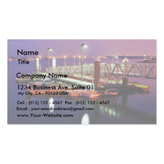 Docks In San Diego Bay Business Card Templates