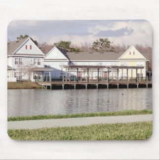 Dockside at Vacation Home Mouse Pad