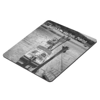 Dockside Boothbay Harbor Maine Coaster Puzzle