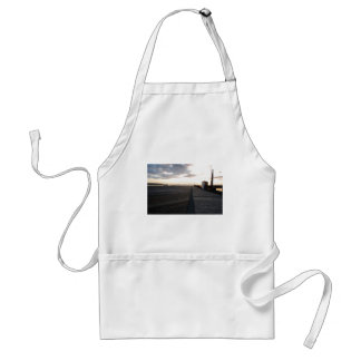DockStretchSunset041609 Adult Apron