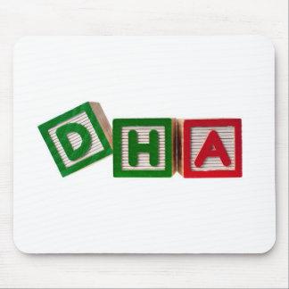Docosahexaenoic acid mouse pad
