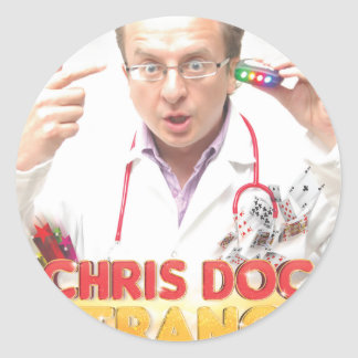docsposterweb classic round sticker
